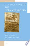 A Companion To The Poema De Mio Cid