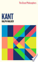 The Great Philosophers Kant Book