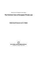 The Common Core Of European Private Law
