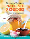 Pdf Doctors' Favorite Natural Remedies Telecharger