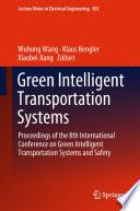 Green Intelligent Transportation Systems Book