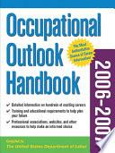 Occupational Outlook Handbook  2006 2007 edition