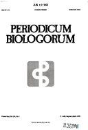 Periodicum Biologorum Book