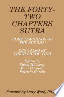 THE FORTY TWO CHAPTERS SUTRA Core Teachings of the Buddha  Zen Talks by Thich Phuoc Tinh Book