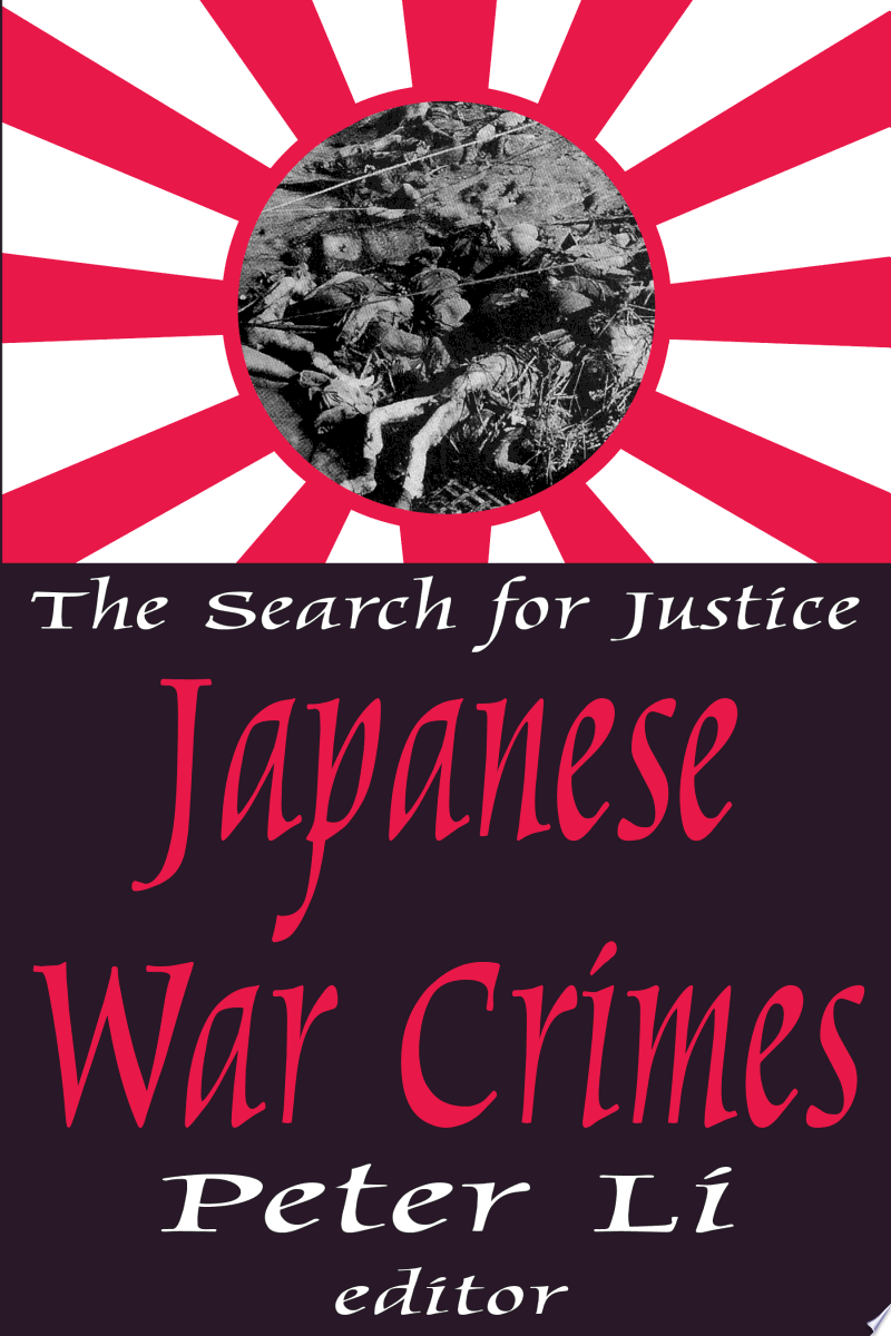 Japanese War Crimes banner backdrop