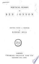 Poetical Works of Ben Jonson