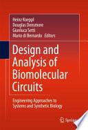 Design and Analysis of Biomolecular Circuits