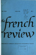The French Review Book