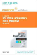 Cecil Medicine Pageburst on VitalSource Access Code Book
