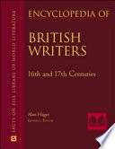 Encyclopedia Of British Writers 16th 17th And 18th Centuries