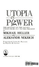 Utopia in Power Book PDF