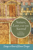 Nature, Law, and the Sacred