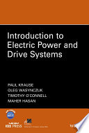 Introduction To Electric Power And Drive Systems Book PDF