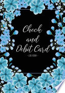 Check and Debit Card Log Book