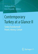 Contemporary Turkey at a Glance II