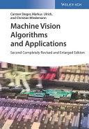 Machine Vision Algorithms and Applications Pdf/ePub eBook