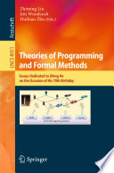 Theories of Programming and Formal Methods