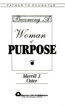 Becoming a Woman of Purpose Book PDF