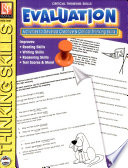 Critical Thinking Skills Evaluation Book