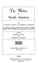 Pdf The Wolves of North America: Classification of wolves, by E. A. Goldman