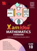 Xamidea Mathematics (Standard) - Class 10 - CBSE (2020-21) Pdf/ePub eBook