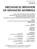 Mechanical Behavior Of Advanced Materials Book PDF