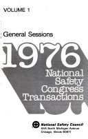 National Safety Congress Transactions