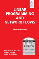 Linear Programming And Network Flows  2Nd Ed