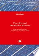Perovskite and Piezoelectric Materials Book