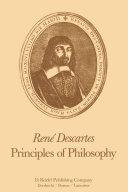 Ren   Descartes  Principles of Philosophy