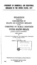 Hearings  Reports and Prints of the Senate Committee on Human Resources