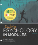 Loose Leaf Version for Exploring Psychology in Modules 10e   Launchpad for Myers s Exploring Psychology in Modules 10e  Six Month Access   With Access