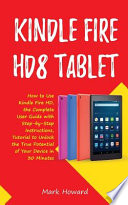 Kindle Fire Hd8 Tablet