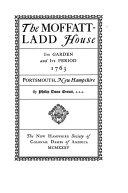 Pdf The Moffatt-Ladd House