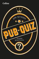 Collins Pub Quiz  10 000 easy  medium and difficult questions