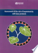Assessment Of The Risk Of Hepatotoxicity With Kava Products Book PDF