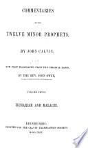 Commentaries on the Twelve Minor Prophets