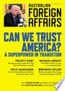 AFA8 Can We Trust America