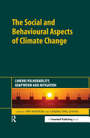 The Social and Behavioural Aspects of Climate Change