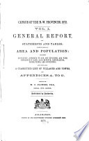 Census of the N.-W. Provinces, 1872