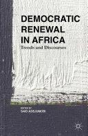 Pdf Democratic Renewal in Africa Telecharger
