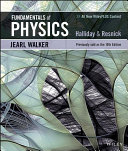 Cover of Fundamentals of Physics