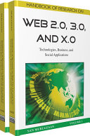 Handbook of Research on Web 2.0, 3.0, and X.0: Technologies, Business, and Social Applications Pdf/ePub eBook