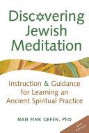 Discovering Jewish Meditation Book