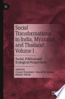 Social Transformations In India Myanmar And Thailand Volume I