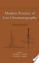Modern Practice Of Gas Chromatography Book PDF