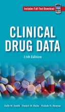 Cover of Clinical Drug Data, 11th Edition