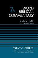Pdf Joshua 1-12, Volume 7A Telecharger