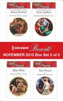 Harlequin Presents November 2015 - Box Set 2 of 2 [Pdf/ePub] eBook