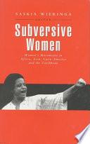 Subversive Women Book